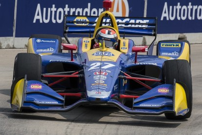 IndyCar Detroit: Alexander Rossi scores pole for opening race