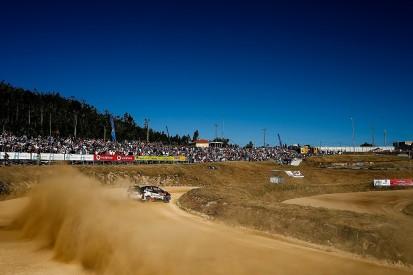 WRC Rally Portugal: Ott Tanak heads Toyota 1-2-3 into Saturday