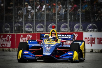 Detroit IndyCar: Rossi leads practice, Pagenaud causes red flag