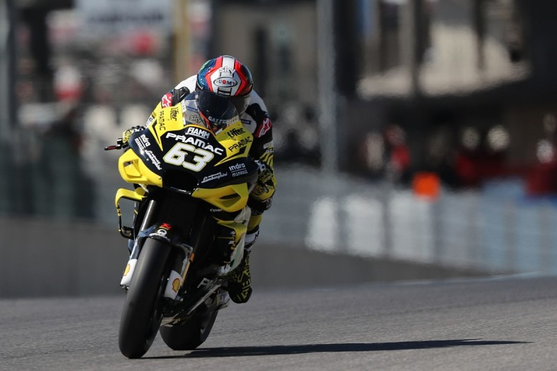 Italian GP: Pramac Ducati's Bagnaia tops MotoGP second practice