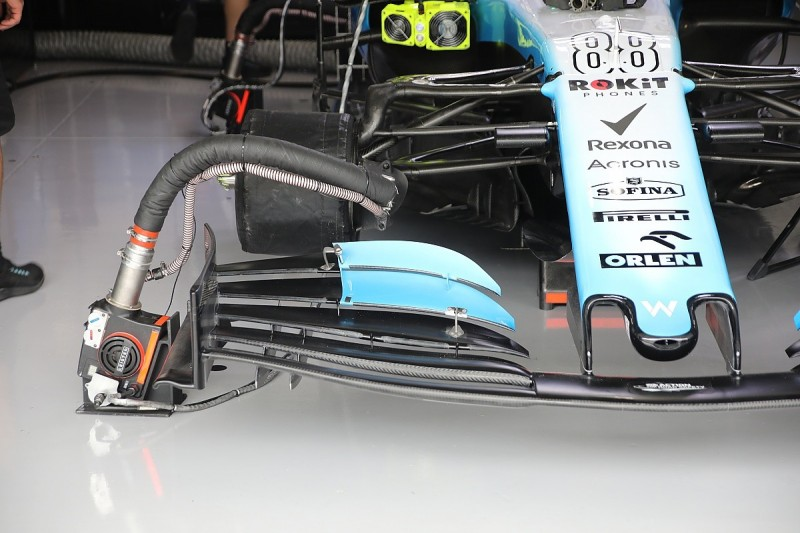 Williams trials experimental F1 front wing in Japanese GP practice