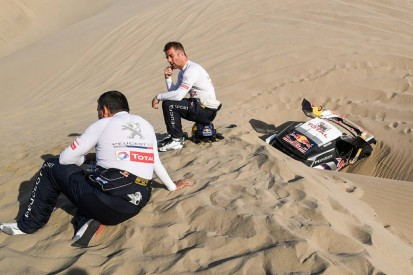 Sebastien Loeb explains incident that ended his last Dakar Rally