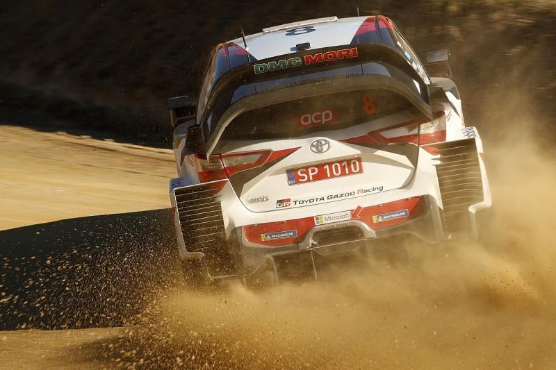WRC Rally Portugal: Ott Tanak pulls clear of Jari-Matti Latvala