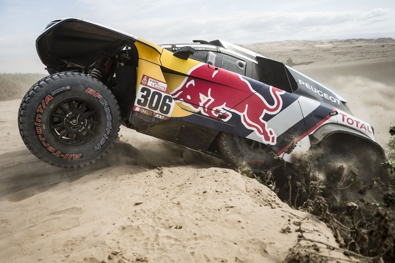 Sebastien Loeb takes his first stage win of the 2018 Dakar Rally