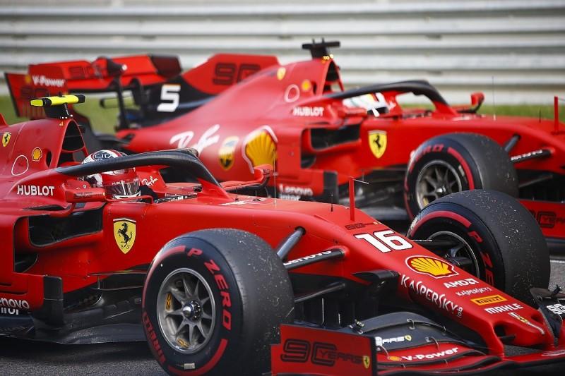 Hamilton questions Ferrari's push to make Leclerc new F1 number one