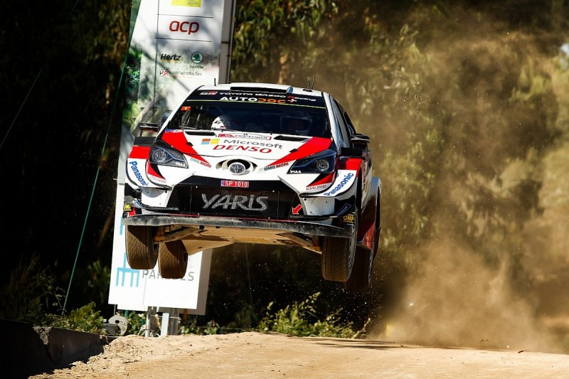 Ott Tanak leads WRC Rally Portugal Toyota 1-2-3 after Sordo drama