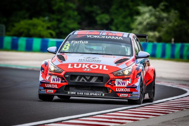 Augusto Farfus's GT clash forces Hyundai WTCR Macau line-up change