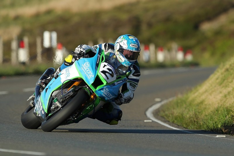 Dean Harrison leads Tuesday's 2019 Isle of Man TT practice