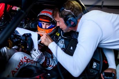 Dovizioso struggling to find Audi's limits in DTM testing at Misano