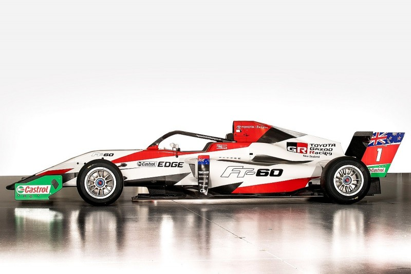 New car for New Zealand-based Toyota Racing Series revealed