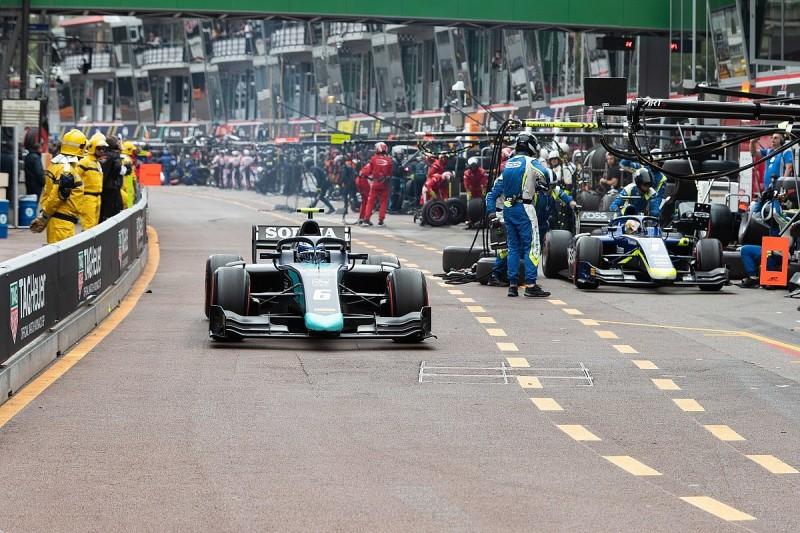 Latifi calls for F1/F2 pit lane exit light change after Monaco