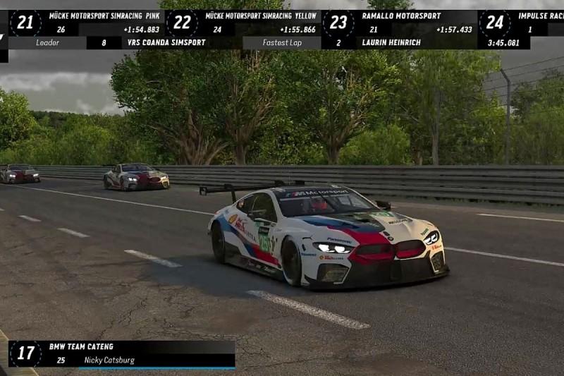 Williams F1 Esports team wins Le Mans race against BMW drivers