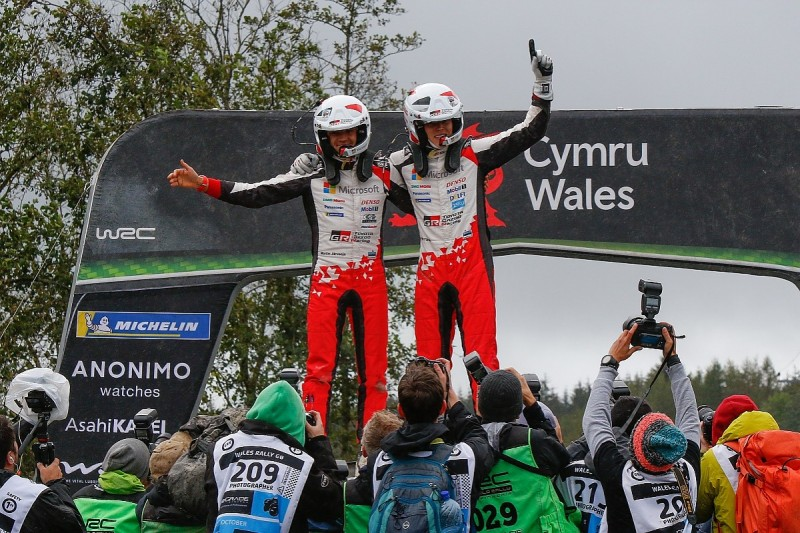 Rally GB: Ott Tanak closes on 2019 WRC title with victory