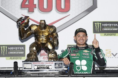 Dover NASCAR: Kyle Larson ends two-year winless streak