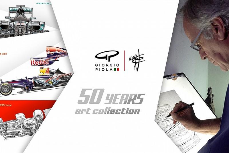 Giorgio Piola launches Fine Art collection on Kickstarter
