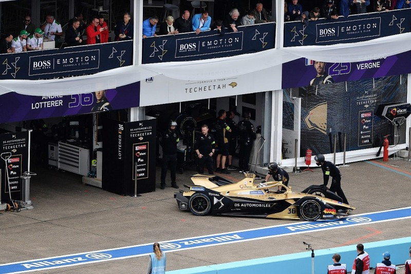 Cooling caused Formula E's first Gen2 battery DNF for Lotterer