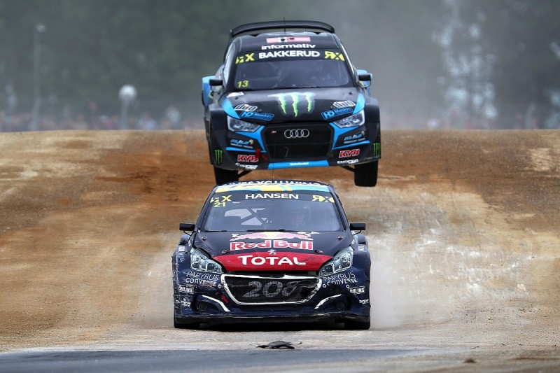 Silverstone World Rallycross: Timmy Hansen becomes double winner