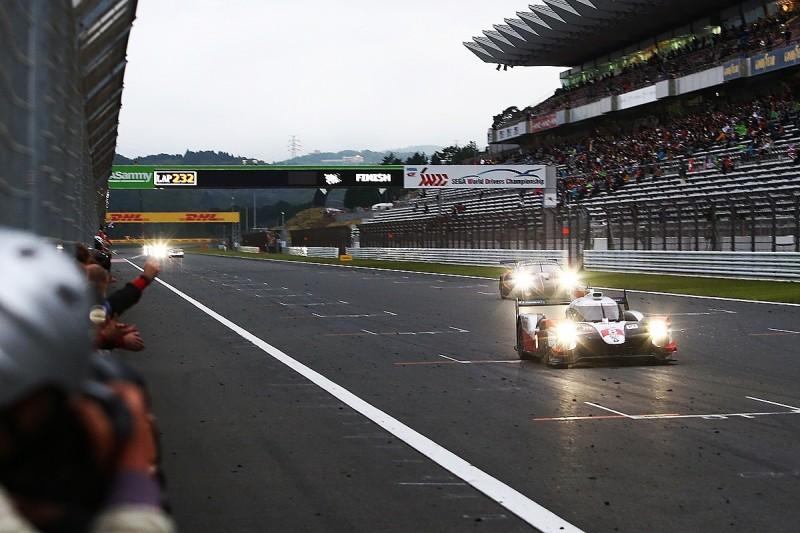 Fuji WEC: Buemi/Hartley/Nakajima dominate, Toyota team-mates slowed