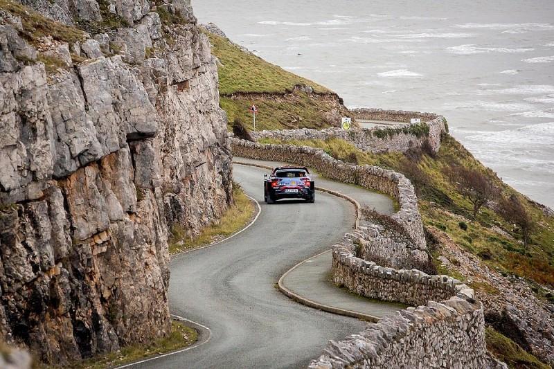 WRC Rally GB Great Orme stage cancelled as divers cannot get close