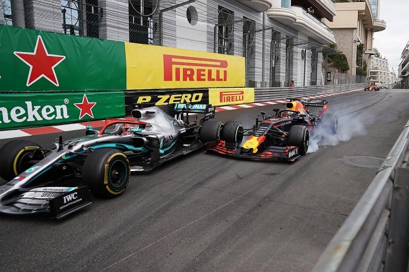 """Red Bull F1 boss: Verstappen """"reserved"""" in Monaco GP Hamilton chase"""