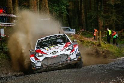 WRC Rally GB: Ott Tanak leads, Elfyn Evans flies, Craig Breen rolls