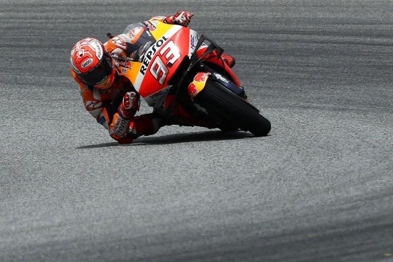 Marc Marquez saw second crash of MotoGP Thailand weekend coming