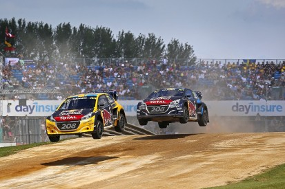 Silverstone World Rallycross: Hansen brothers dominate day one