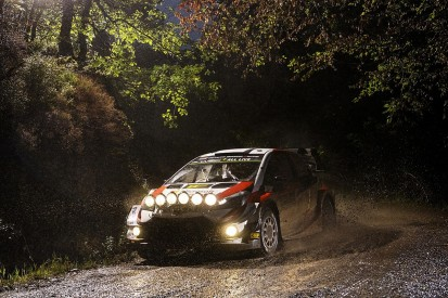 WRC Rally GB: Ott Tanak storms into lead on night stages