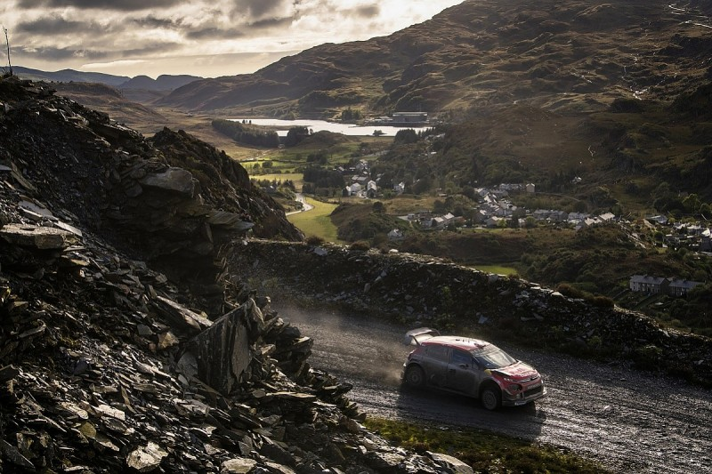 Row over chicane deviation brewing at WRC Wales Rally GB