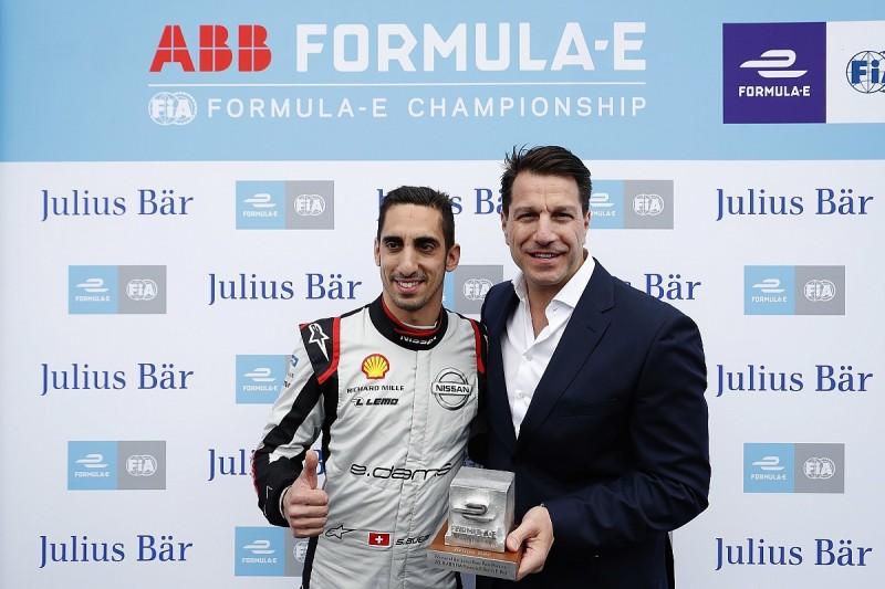 Berlin Formula E: Sebastien Buemi beats Stoffel Vandoorne to pole