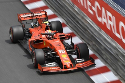 Monaco Grand Prix practice: Leclerc fastest as Vettel crashes