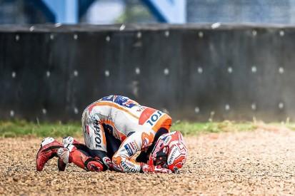 "Podcast: Did Marquez's ""violent"" Thailand practice crash rattle him?"