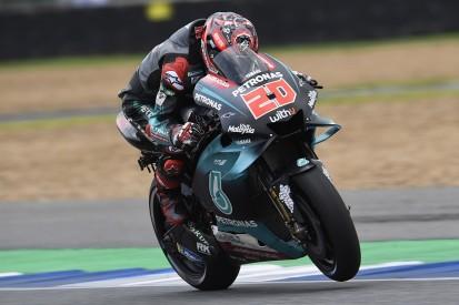 Quartararo tops Thailand MotoGP FP2 as Marquez returns from crash