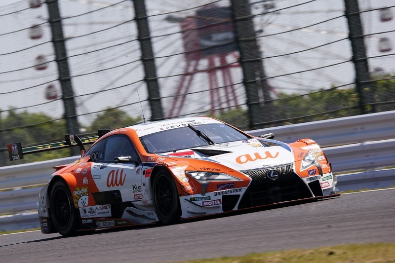 Suzuka SUPER GT: TOM's Lexus on pole, Button/Yamamoto seventh