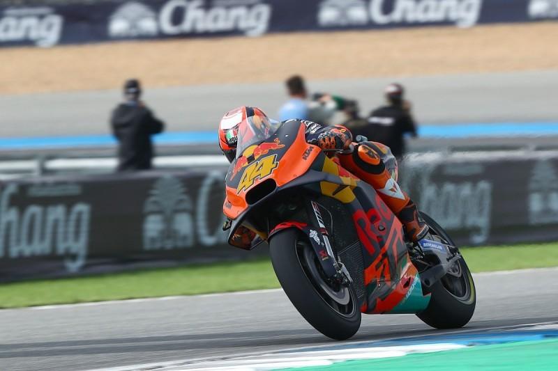 Marquez crash made injured Espargaro cautious in MotoGP practice