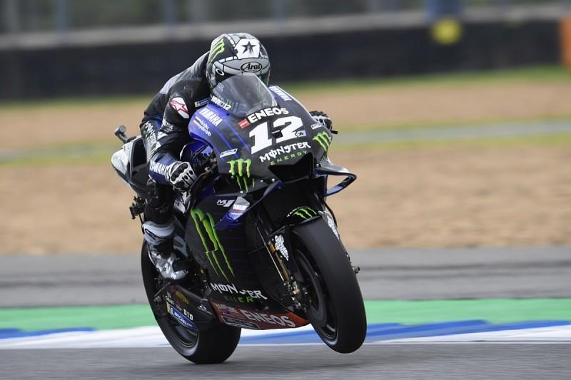 Buriram MotoGP: Vinales leads practice, Marquez has huge crash