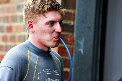 """Promoted: """"Good results on the cards"""" says AMR driver Alex Toth-Jones"""