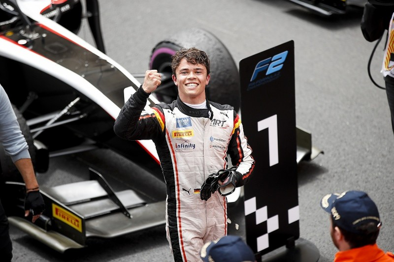 Monaco F2: De Vries wins, Schumacher causes red flag with collision