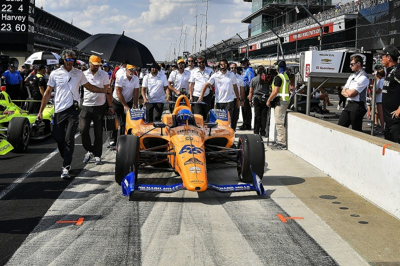 """McLaren admits team """"alliance"""" might be needed for future Indy 500"""