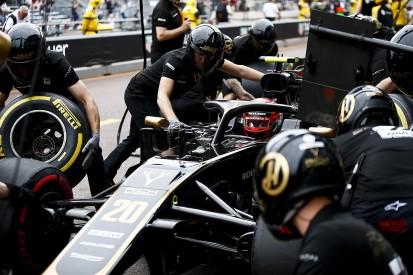 "Haas explains ""creative"" black flag for drivers in Monaco practice"