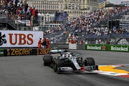 Monaco Grand Prix practice: Lewis Hamilton pips Valtteri Bottas