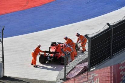 Vettel's Russian GP V12 remark came from hybrid engine frustration