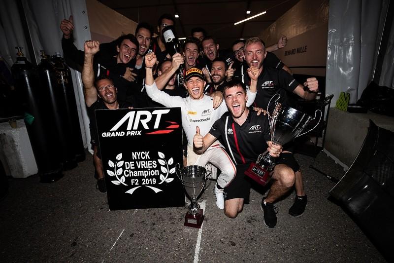 Revenge drove de Vries to Formula 2 title after blowing '18 shot