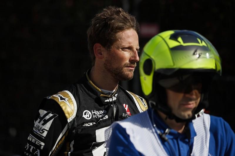 Haas F1 driver Romain Grosjean calls for more gentlemanly driving
