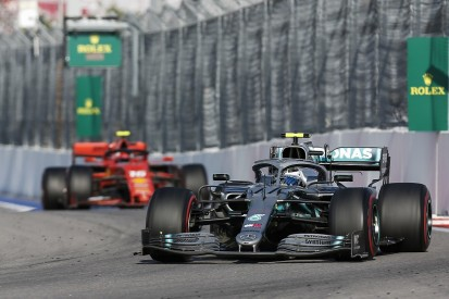Bottas: Vettel's Russian GP stoppage was miracle for Mercedes' race