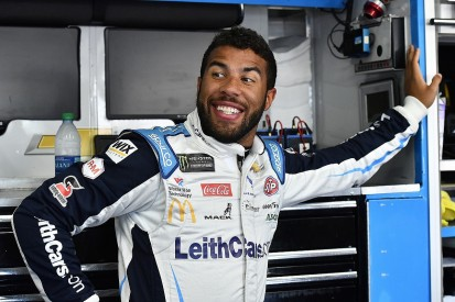 Wallace explains throwing water in Bowman's face after Roval clash