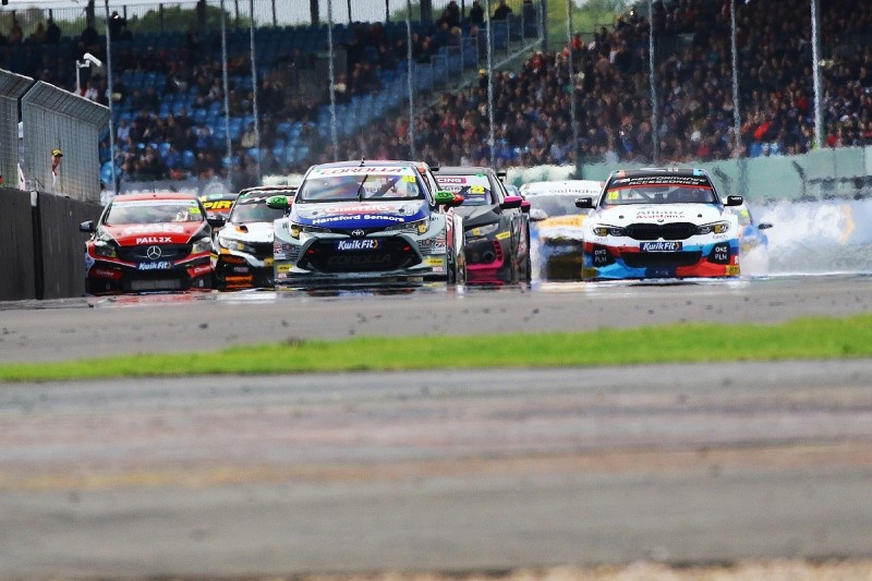 Ingram survives Plato contact to win chaotic Silverstone BTCC race
