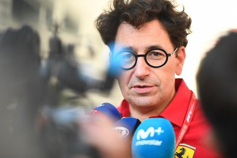 Binotto explains Ferrari's pre-race Russian GP strategy