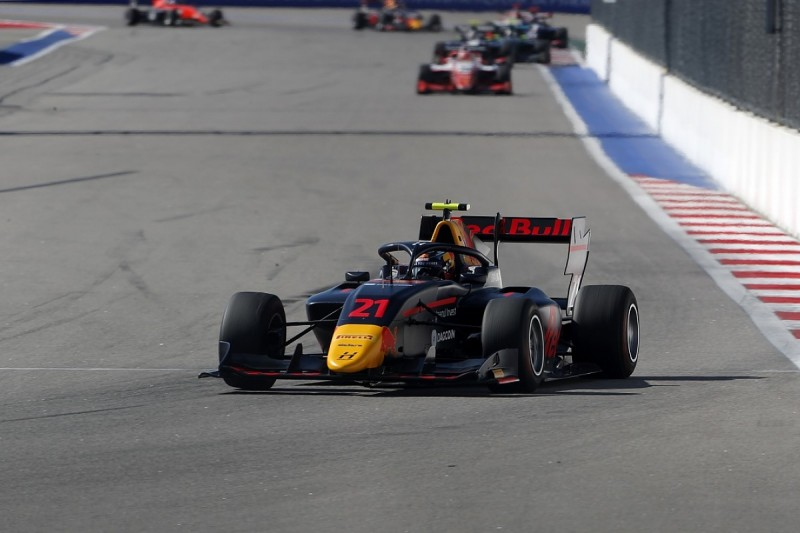 Red Bull F1 junior Vips takes Sochi victory and ends winless streak