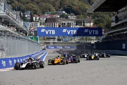 Matsushita, Mazepin taken to hospital after huge F2 Sochi crash